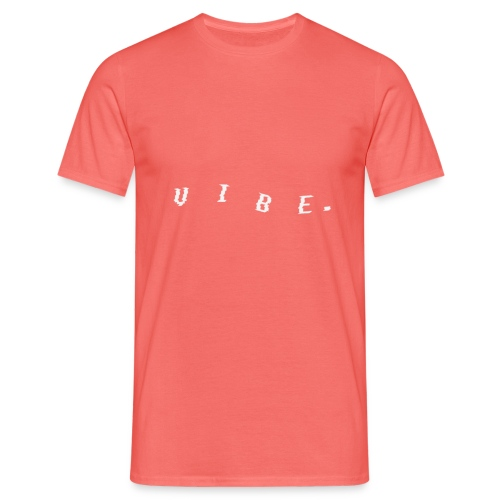 VIBE. 'VIBE.' White Design - Men's T-Shirt