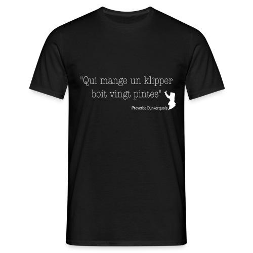 QUI MANGE UN KLIPPER BOIT 20 PINTES - T-shirt Homme