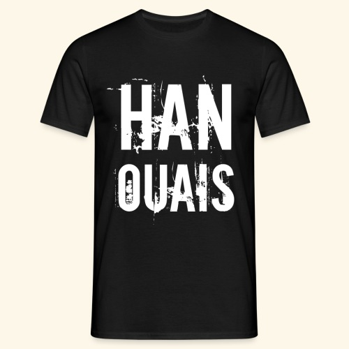 Han ouais basic 2 tribunal charleroi - T-shirt Homme