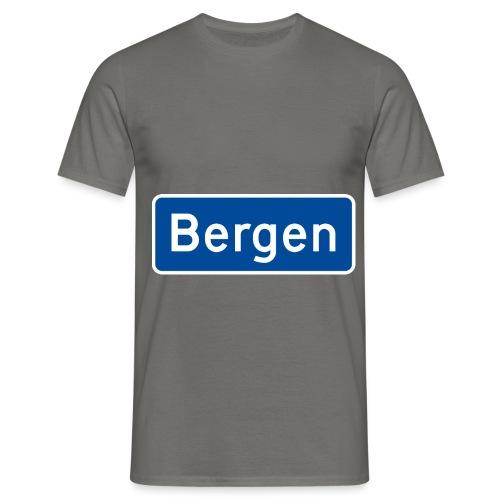 bergen - T-skjorte for menn
