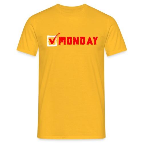 Monday at Work - Maglietta da uomo