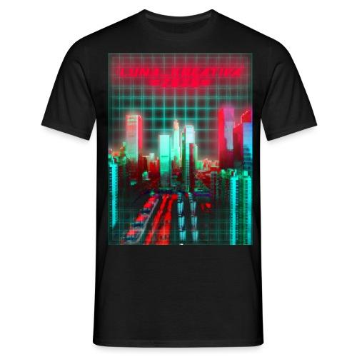 Cyberspace!! - Miesten t-paita