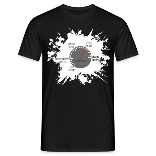 Shook Meter 4000x3692 png - Men's T-Shirt