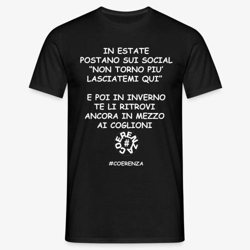IN ESTATE - Maglietta da uomo