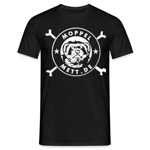 MoppelMett 1 Farbe schwarz - Männer T-Shirt