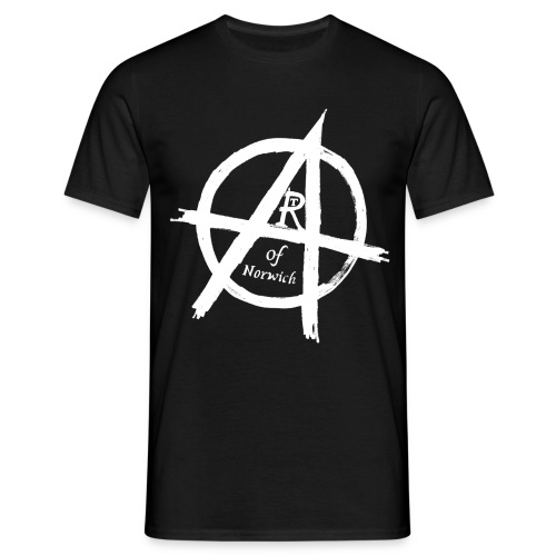 #ANARTISTSUPRISING white - Men's T-Shirt