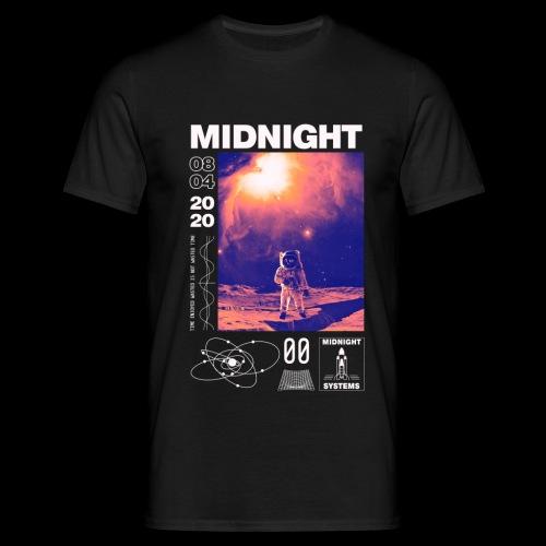 Midnight Astronaut Cosmic Pink - Men's T-Shirt