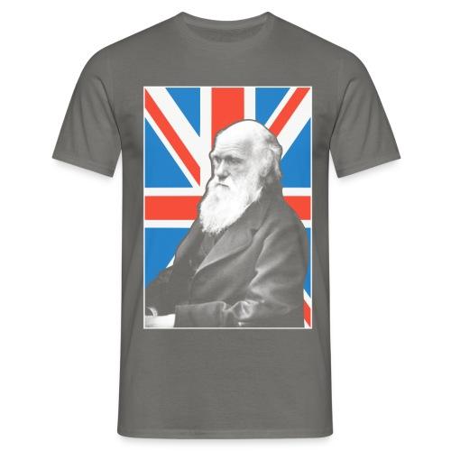 Darwin British scientist - Men's T-Shirt