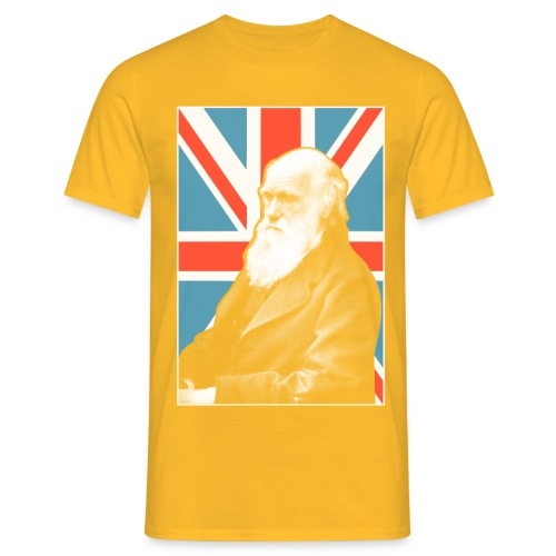 Darwin British scientist - Men's T-Shirt