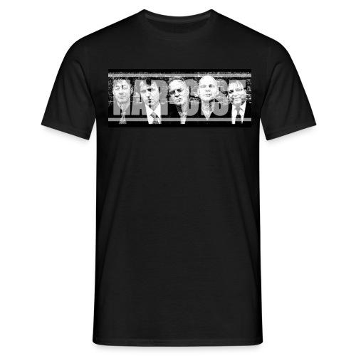 Nar-Faces banner - Mannen T-shirt