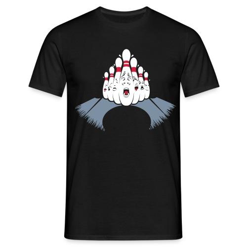 Funny Bowling Strike - Männer T-Shirt