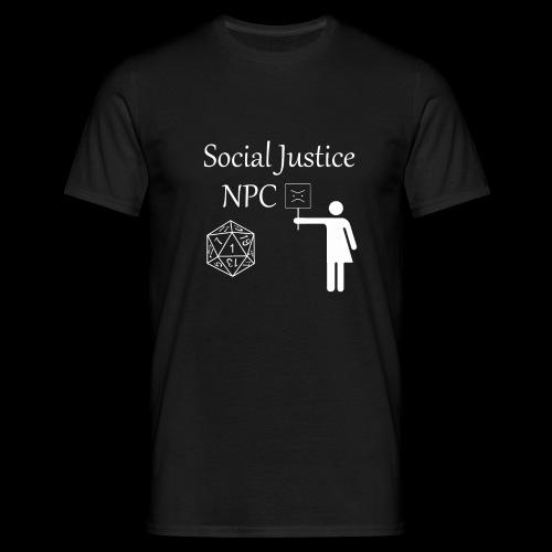 Social Justice NPC - Men's T-Shirt