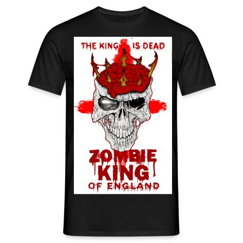 zombie king of england jpg - Men's T-Shirt