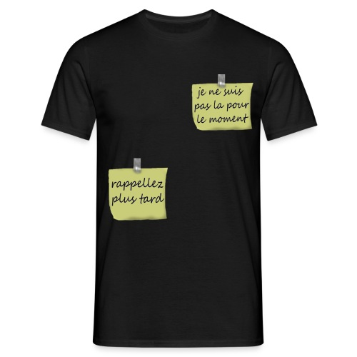 humoristique post-it - T-shirt Homme