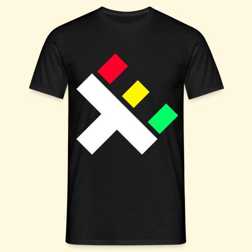Clan Logo - Rasta - Men's T-Shirt