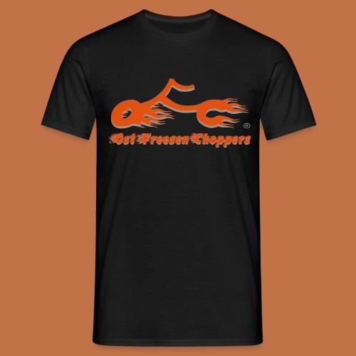 OFC Logo orangegrau 1 0 - Männer T-Shirt