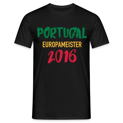 Portugal EM 2016 Gewinner - Männer T-Shirt