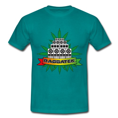 Raggatek Sound System - Men's T-Shirt