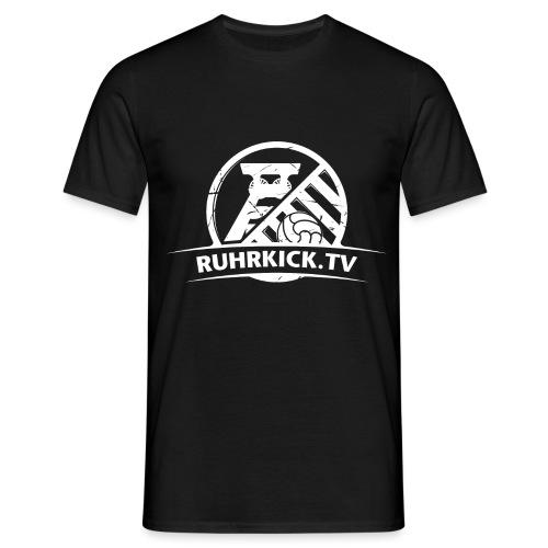 Ruhrkick_Weiss_3200x2400 - Männer T-Shirt