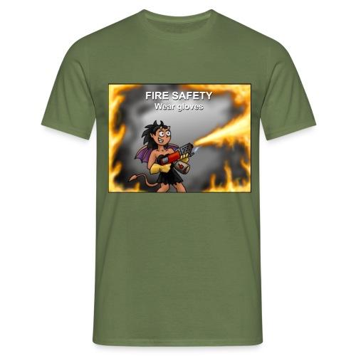 Fire Safety - Men's T-Shirt
