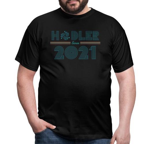 IOTA Hodler since 2021 - Männer T-Shirt