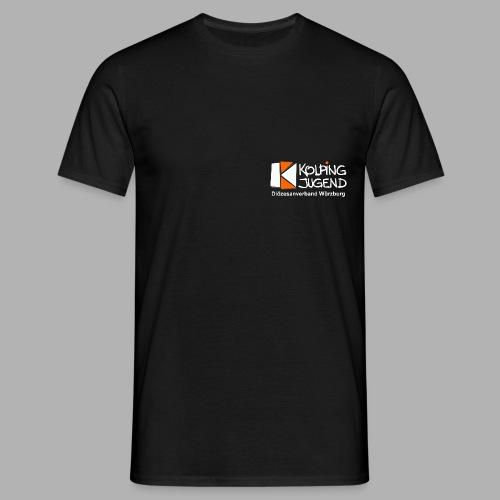 logo_kj_dv-wue_invert - Männer T-Shirt