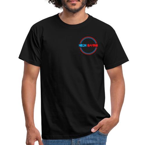 neonschrift rot - Männer T-Shirt