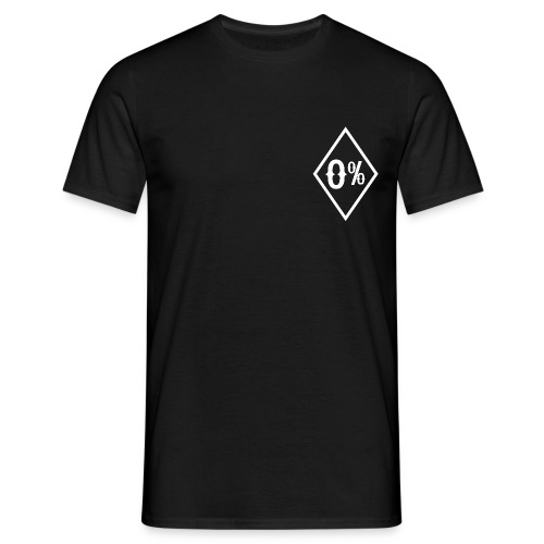 zero percent small - Men's T-Shirt