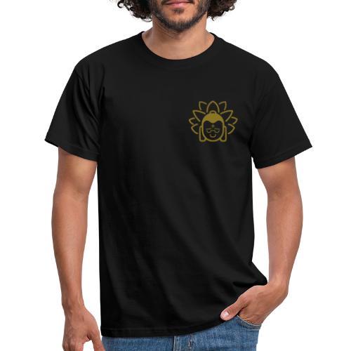 Boeddha hoofd blad - Mannen T-shirt