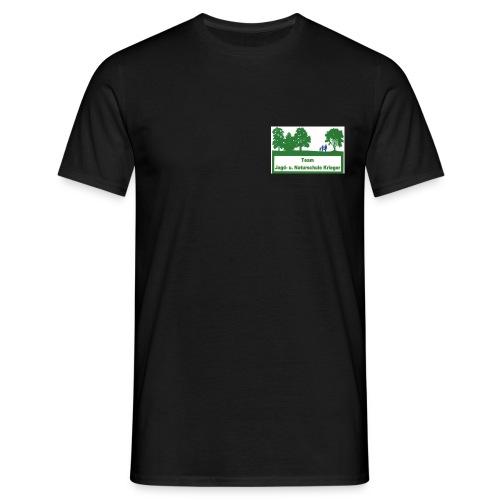 Logo Jagdschule Krieger - Männer T-Shirt