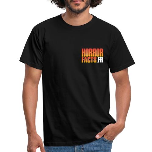 1 for Horror 2 for Facts Evil R - T-shirt Homme