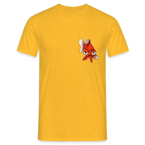 Angry Fish - T-shirt Homme