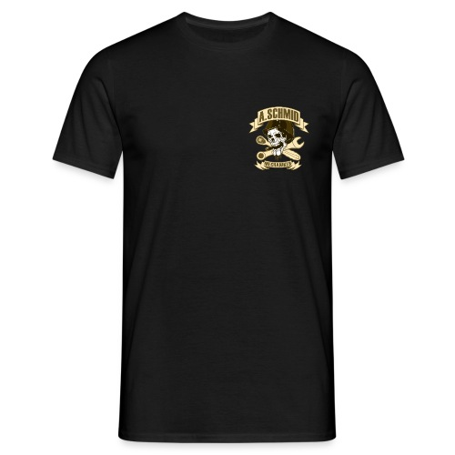 Mechaniker_Patch_Schmid - Männer T-Shirt