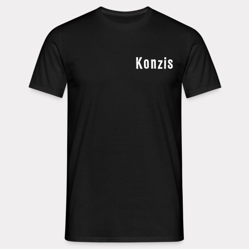 Konzis Font - Männer T-Shirt