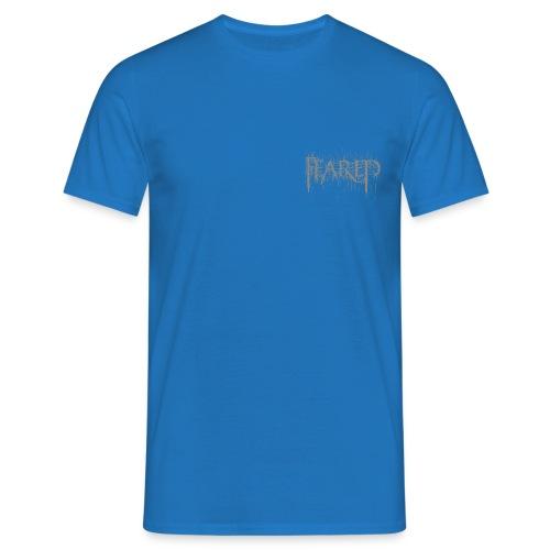 Feared-blackmetallogo gre - Men's T-Shirt