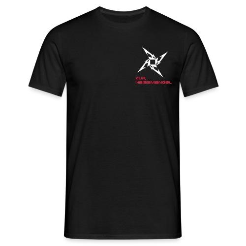 ZUR HEISSMANGEL LOGO - Männer T-Shirt