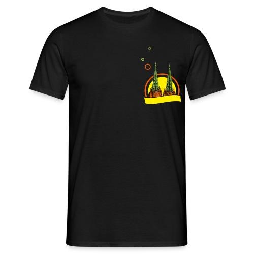 congstar kölner dom - Männer T-Shirt