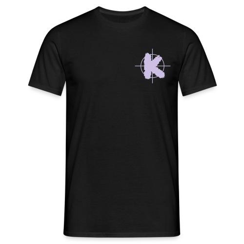 K solo schwarz - Männer T-Shirt