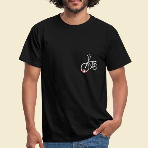 Radball | Cycle Ball Polo white - Männer T-Shirt
