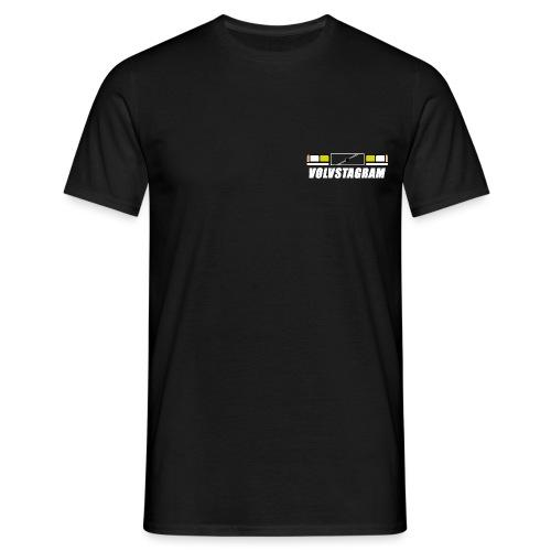 Volvstagram White - T-skjorte for menn