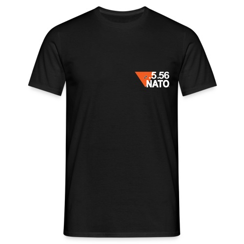 5 56 NATO BLANC png - T-shirt Homme