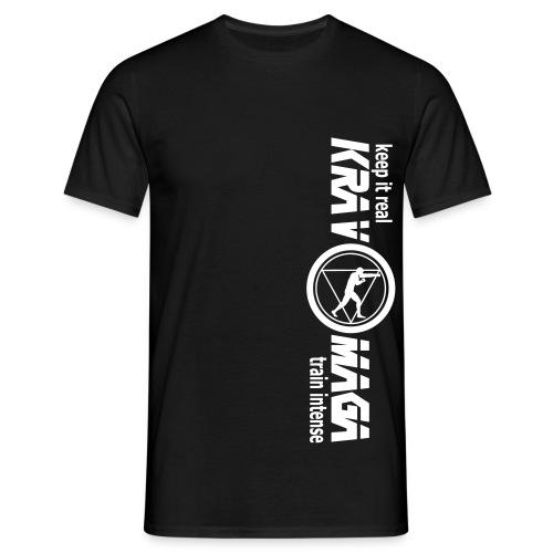 flexdruck vertikal - Männer T-Shirt