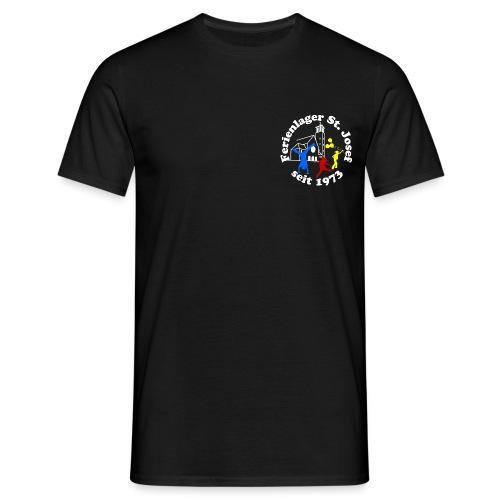 Logo Gif weiss farbig 120dpi 2000px - Männer T-Shirt