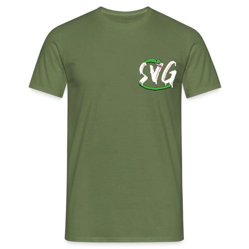 Savage Snake White - Mannen T-shirt