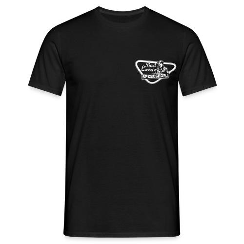 badlarry siebdruckfarbe weiss - Männer T-Shirt