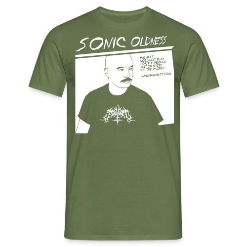 porz-sonic-oldness NEG - Men's T-Shirt