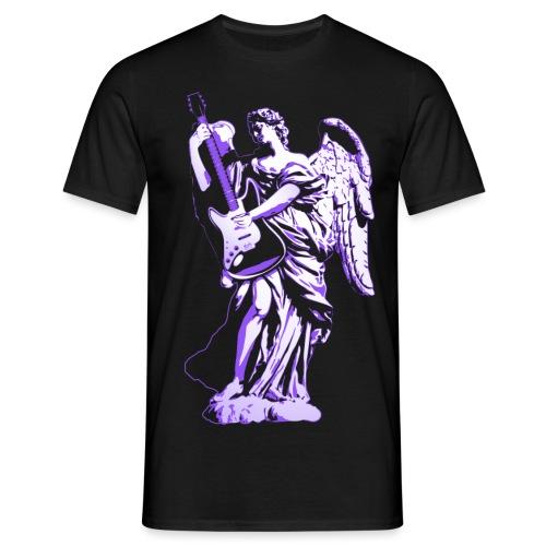 Engel 2018 paars - Mannen T-shirt