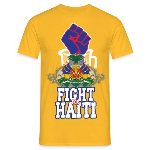 Fight For Haiti - Maglietta da uomo