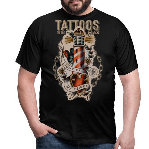 Lighthouse Leuchtturm Tattoos to the Max - Männer T-Shirt
