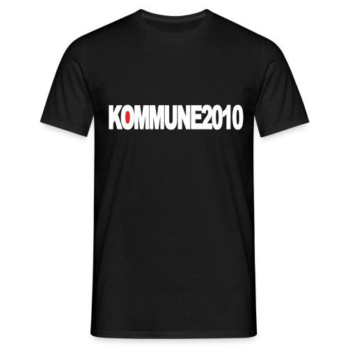 Kommune2010 Merch - Männer T-Shirt